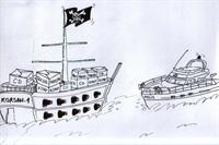 Korsan – Karikatür