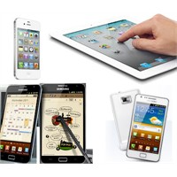 Samsung Galaxy Note&s2, İpad2, İphone 4s
