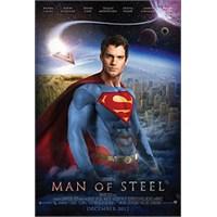 "Yeni Süpermen Filmi ""Man Of Steel"""