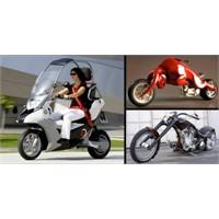 13 ilginç ve sıradışı motorsiklet tasarımı