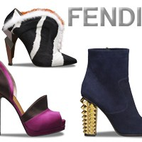 Fendi 2014 Kış Ayakkabı Koleksiyonu