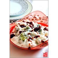 Yemek Cini - Yoğurtlu Brokoli & Karnabahar Salata