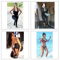 Kim Kardashian Spor Yapıyor