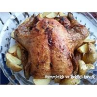 Sarımsaklı Ve Kekikli Tavuk