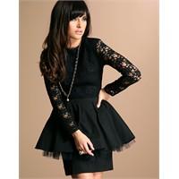 Trend İpucu:siyah Dantel Elbise