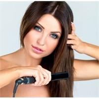 Saç Düzleştirici Tehlike Saçıyor Dikkat!