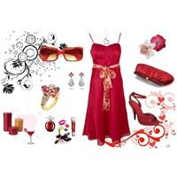 Elbise Kombinleri Renkli Ve Dantelli