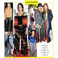 Trend Raporu:Saten Pantolonlar