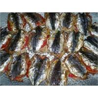 Domatesli Sardalya Balığı Tarifi