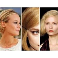 Saçlarınızı Hizaya Sokacak Bir Trend: 'bobby Pins'