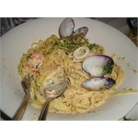 Deniz Mahsüllü Spagetti Yapımı