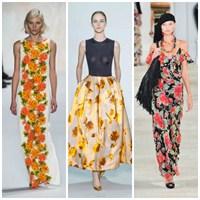 2013 İlkbahar Yaz Trendi: Floral Desenler