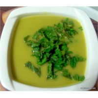 Kremalı Bezelye Çorbası-1