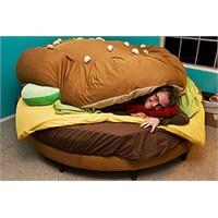 Hamburger Şeklinde Yatak