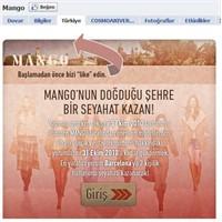 Mango Türkiye Facebook'tan Barselona tatili