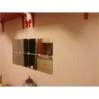 Mutfakta Ayna Dekorasyonu