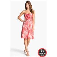 Şifon Elbise Modelleri 2014