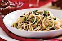 Fırında Sebzeli Spagetti