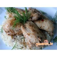 Yoğurt Soslu Baharatlı Tavuk
