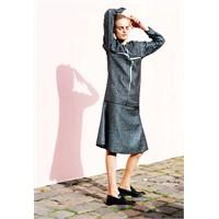2014 Uzun Kollu Elbise Modelleri