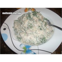 Dereotlu Közlenmiş Patlıcan Salatası