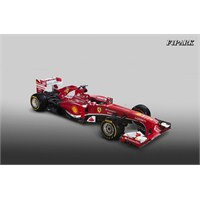 Ferrari 2013 Aracı F138'in Örtüsünü Kaldırdı