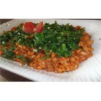Buğday Salatası Tarifii