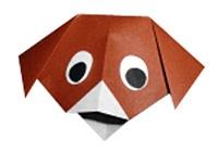 Origami Sanatı İle Beş Adımda Köpek Yapımı