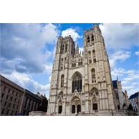 Brüksel St Micheal Ve St Gudula Katedrali