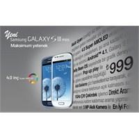 Avea Samsung Galaxy S3 Mini Kampanyası Detayları
