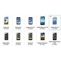 Galaxy S4 Mini, Sitesinde Göründü!