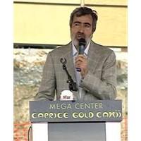 """Mega Center Caprice Gold Cami"""