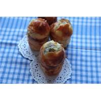 Muffin Kalıbında Peynirli Poğaça