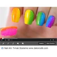 Neon Tırnaklar Nail Art