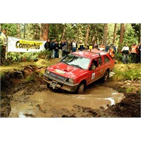 Off Road Yarışlarında İlginç Kaza