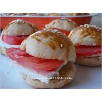 Küçük Sandviç Ekmekleri Biscoti
