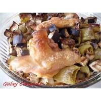 Fırında Karışık Kızartma Ve Tavuk Baget