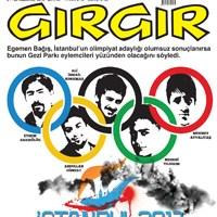 Gırgır'ın Kapağında Olimpiyatlar Var!