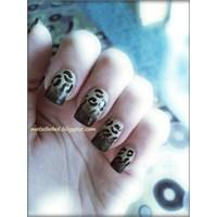 Leopar / Ombre Nail Art