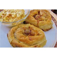 Bulgur Ve Yeşil Mercimekli Börek Yapalım