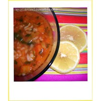 Tavuk Suyuna Sebzeli Pirinç Çorbası