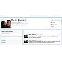 Metin Şentürk Twitteri Altına Üstüne Getirdi
