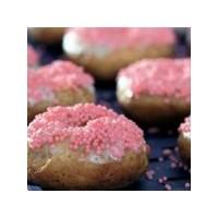 Pembe Şekerli Donut