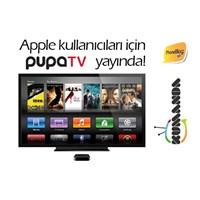 Apple Kullanıcıları İçin Pupa Tv Yayında!