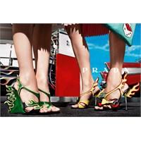 Prada'dan Büyülü Ayakkabı Modelleri : 2013 Sezonu