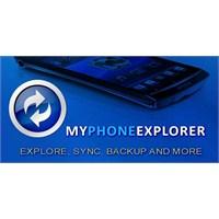 Myphoneexplorer Client (Pc'den Telefonu Yönetin)