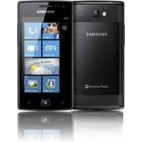 Samsung'un Mangolu Telefonu Omnia W İ8350