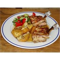 Fırın Lezzetleri - Pekmezli Tavuk Ve Patates