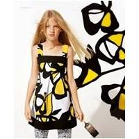 Kız Çocukları İçin Gap Elbise Modelleri