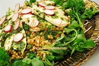 Tavuklu Bahar Salatası